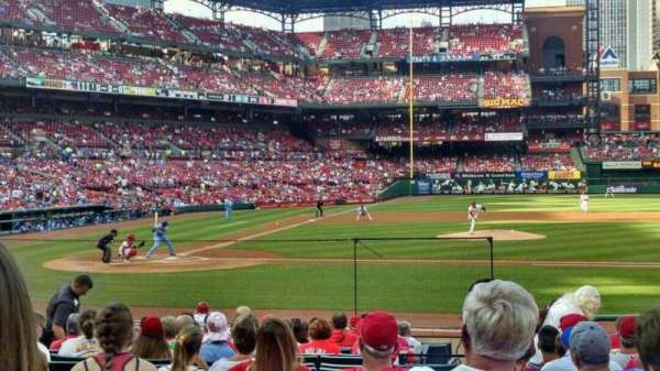 Busch Stadium, section: 145, row: 7, seat: 8