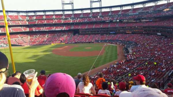 Busch Stadium, section: 270, row: 10, seat: 7