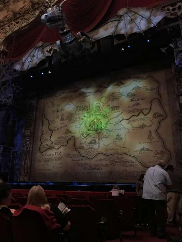 James M. Nederlander Theatre, section: Orchestra R, row: H