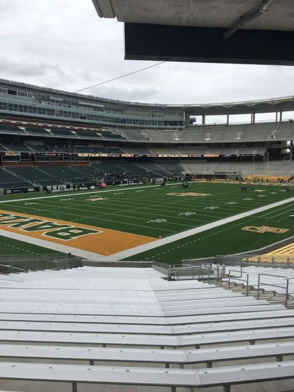McLane Stadium, section: 131, row: 30, seat: 10
