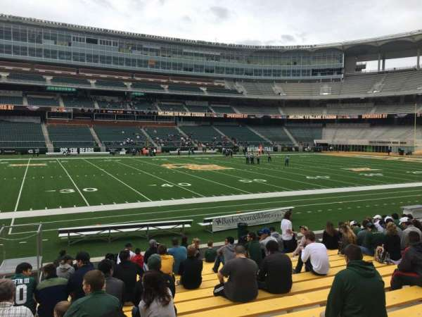 McLane Stadium, section: 126, row: 13, seat: 26