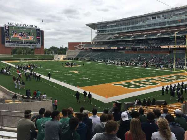 McLane Stadium, section: 118, row: 22, seat: 15