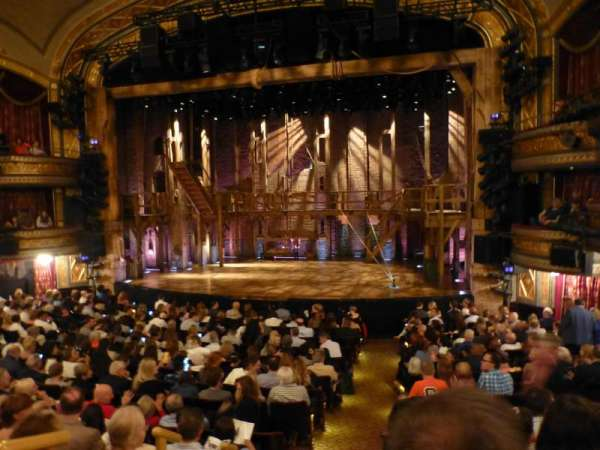 Richard Rodgers Theatre, section: Orchestra R, row: P, seat: 2