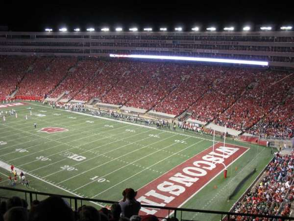 Camp Randall Stadium, section: AA, row: 11, seat: 8