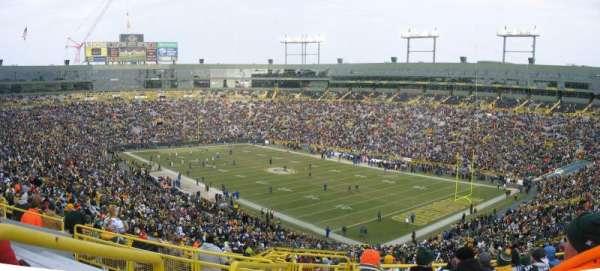 Lambeau Field, section: 338