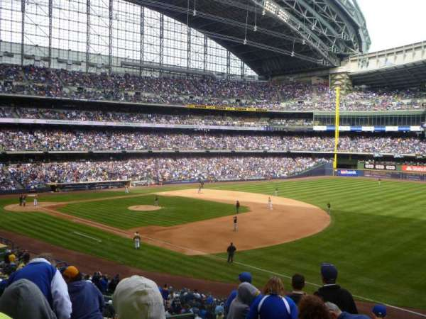 Miller Park, section: 209, row: 8, seat: 5
