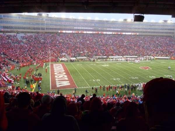 Camp Randall Stadium, section: H, row: 64, seat: 26