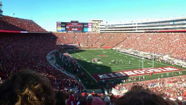 Camp Randall Stadium, section: Z2, row: 66, seat: 30