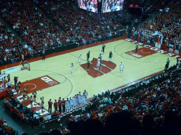 Kohl Center, section: 325, row: E, seat: 13