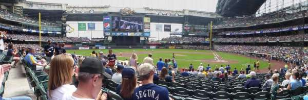 Miller Park, section: 120, row: 15, seat: 8