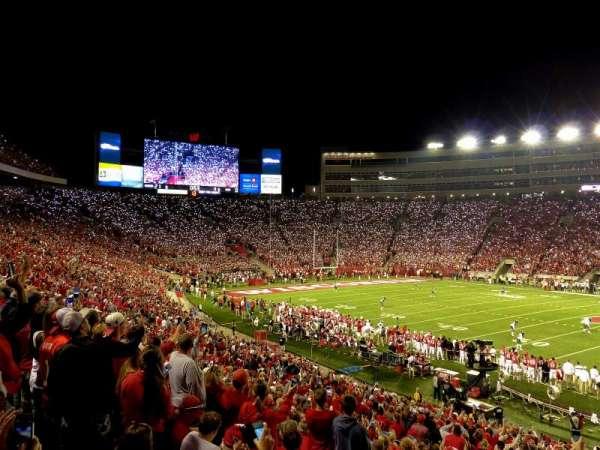Camp Randall Stadium, section: c, row: 38, seat: 28