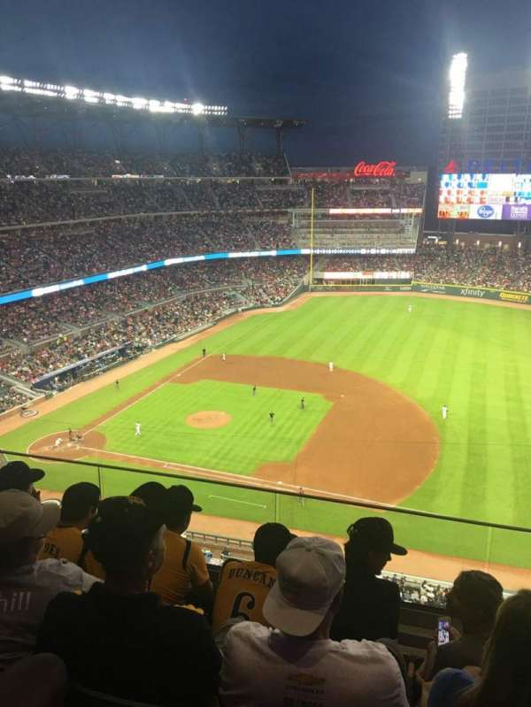 Truist Park, section: 417, row: 5, seat: 4