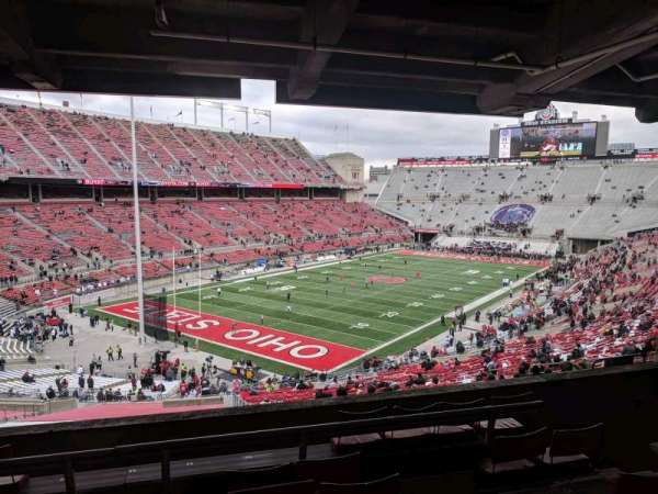 Ohio Stadium, section: 7B, row: 7, seat: 12
