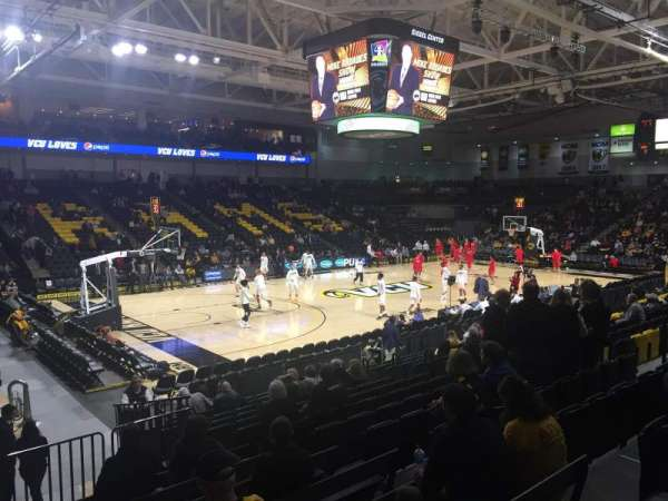 Stuart C. Siegel Center, section: 27, row: N, seat: 9
