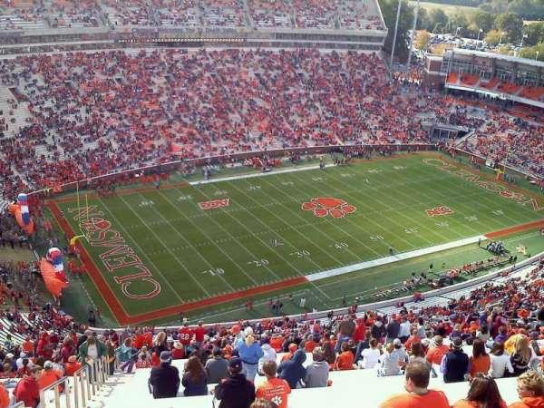 Memorial Stadium, Clemson, section: TDL