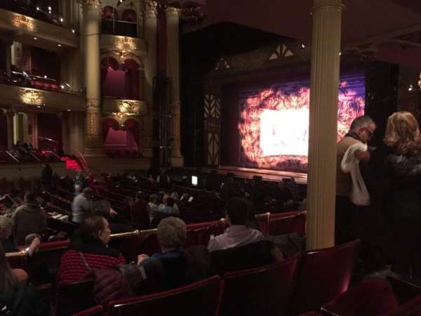 Academy of Music, section: Parquet Circle B, row: W, seat: 48