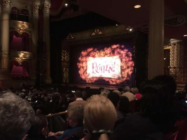 Academy of Music, section: B, row: V, seat: 44