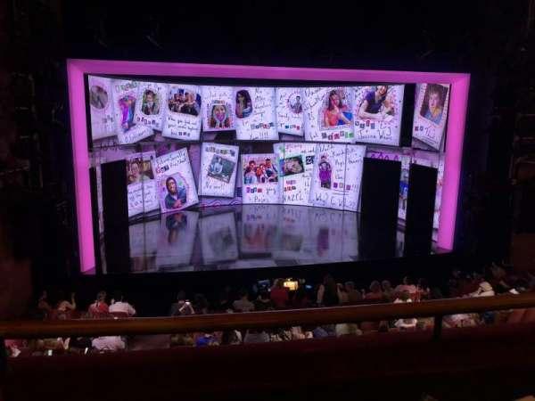 August Wilson Theatre, section: Mezzanine C, row: B, seat: 118