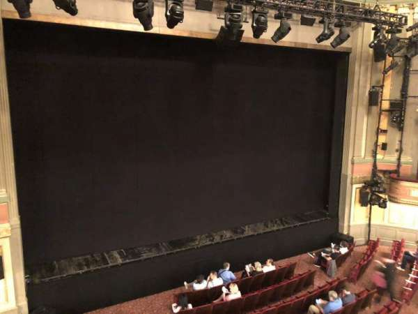 Neil Simon Theatre, section: Front Mezzanine L, row: B, seat: 11