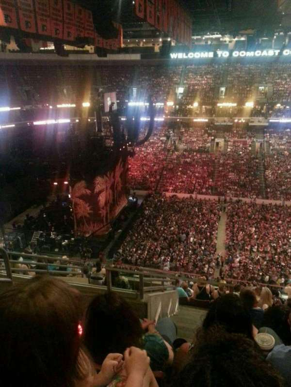 Wells Fargo Center, section: 210, row: 10, seat: 3