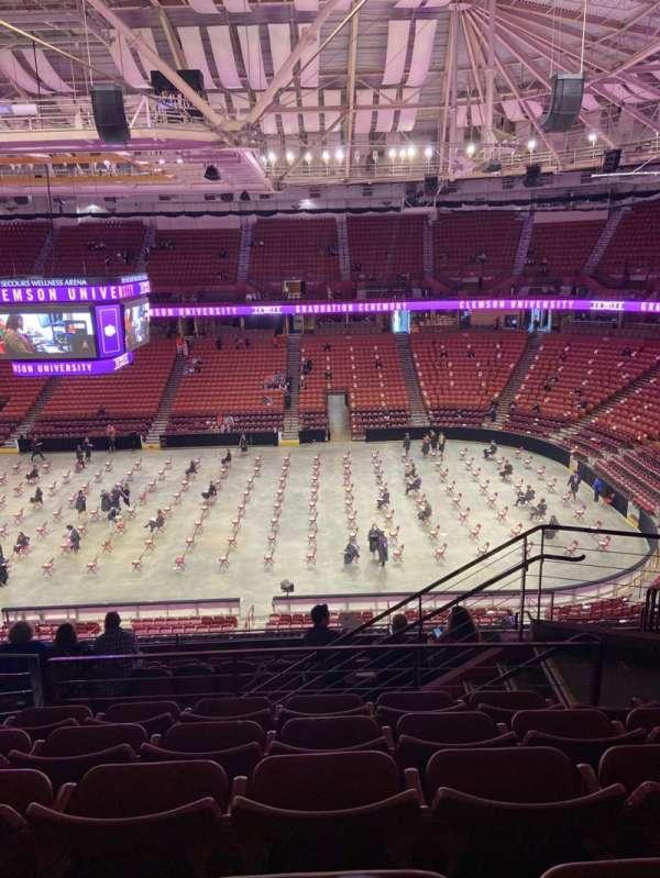 Bon Secours Wellness Arena, section: 221, row: K, seat: 4