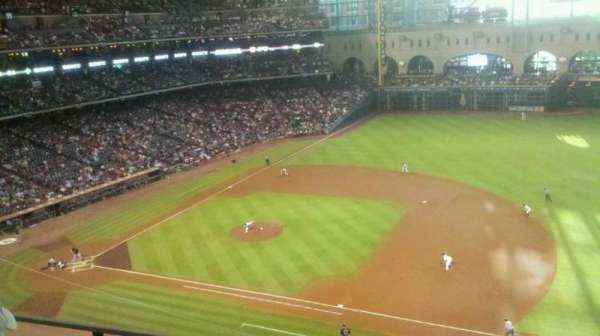Minute Maid Park, section: 327, row: 2, seat: 21