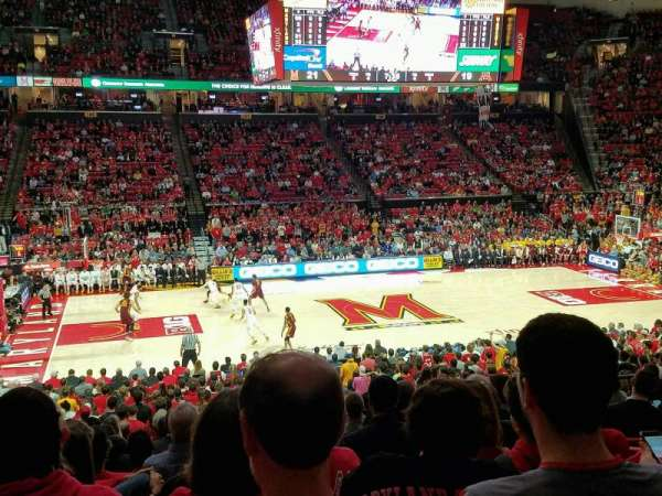 Xfinity Center (Maryland), section: 113, row: 15, seat: 10