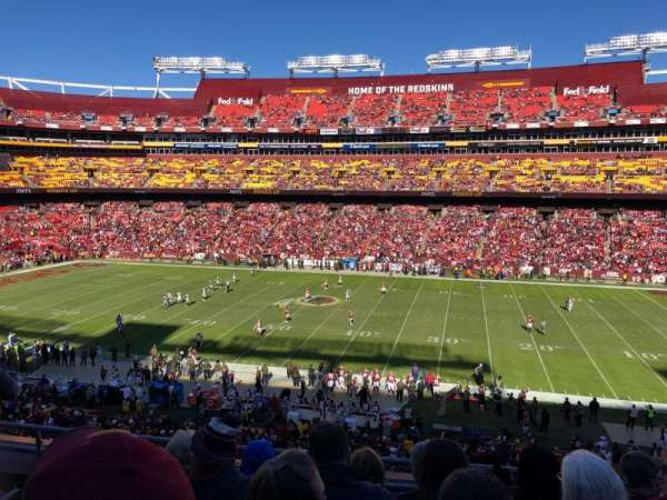 FedEx Field, section: 341, row: 5, seat: 9