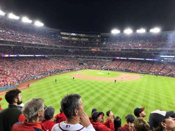 Nationals Park, section: 241, row: J, seat: 18