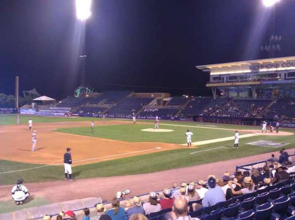 Richmond County Bank Ballpark, section: 4, row: L, seat: 15