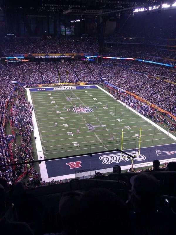 Lucas Oil Stadium, section: 629, row: 7, seat: 3