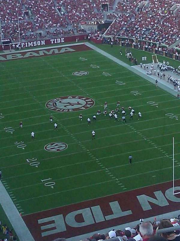 Bryant-Denny Stadium, section: SS-11, row: 29, seat: 7