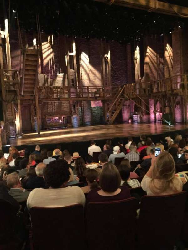Richard Rodgers Theatre, section: Orchestra L, row: K, seat: 5