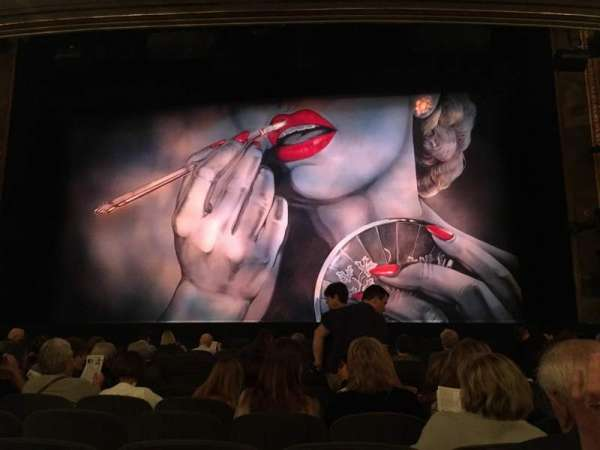 Nederlander Theatre, section: Orchestra C, row: M, seat: 103