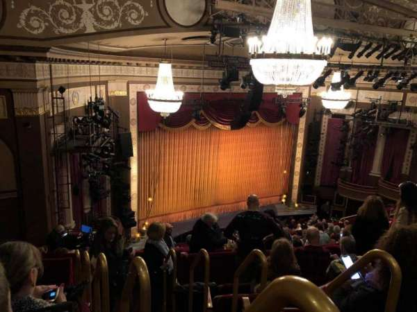 Imperial Theatre, section: Rear Mezzanine 5, row: F, seat: 1