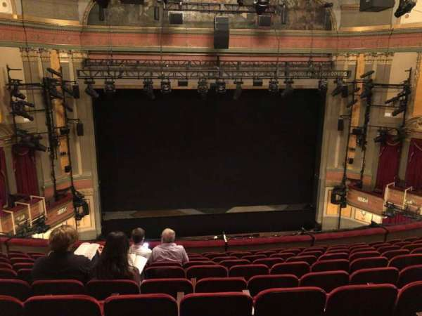Neil Simon Theatre, section: Front Mezzanine C, row: K, seat: 107