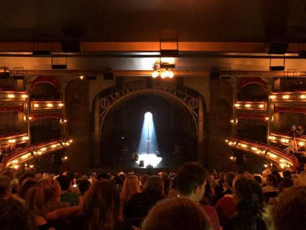 Lyric Theatre, section: Dress Circle C, row: L, seat: 114
