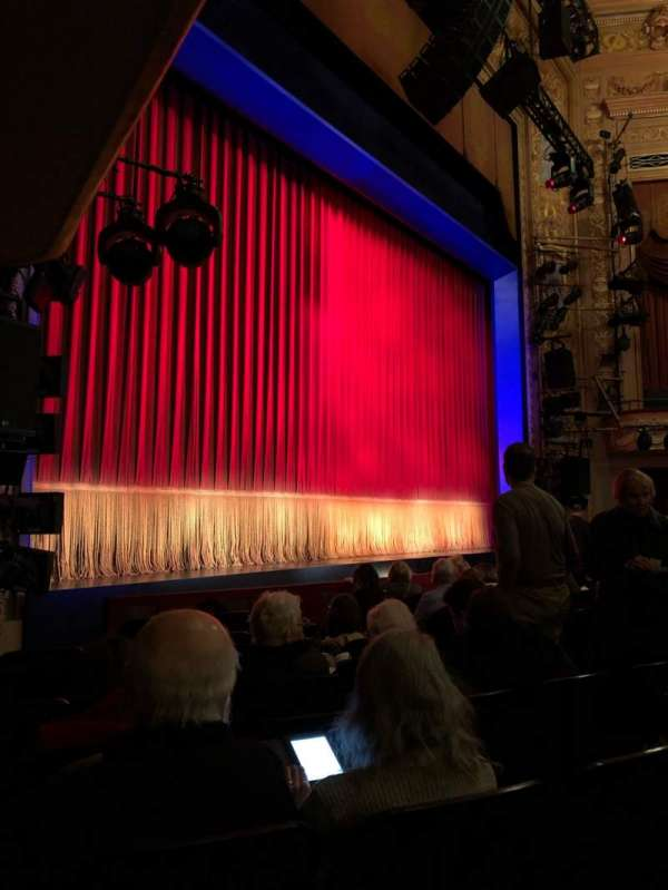 Longacre Theatre, section: Orchestra L, row: H, seat: 16