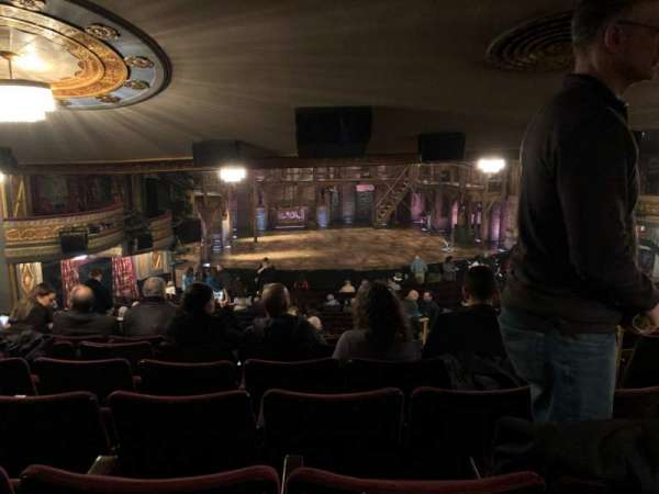 Richard Rodgers Theatre, section: Standing Room Only, seat: 5