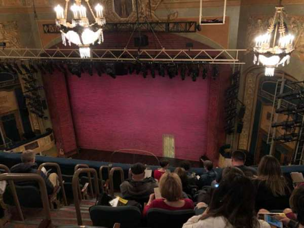 Shubert Theatre, section: Balcony R, row: G, seat: 6