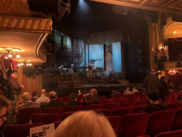 Walter Kerr Theatre, section: Orchestra, row: N, seat: 21