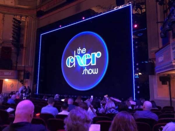 Neil Simon Theatre, section: Orchestra C, row: L, seat: 114