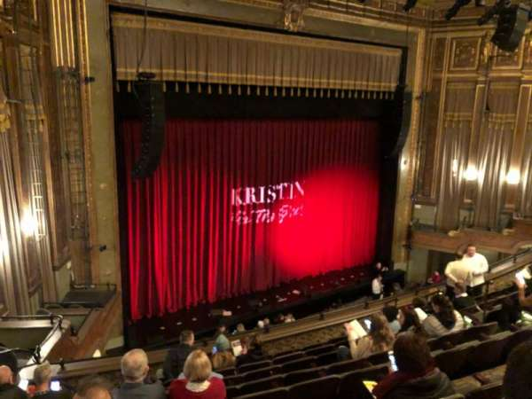 Nederlander Theatre, section: Mezzanine L, row: J, seat: 23