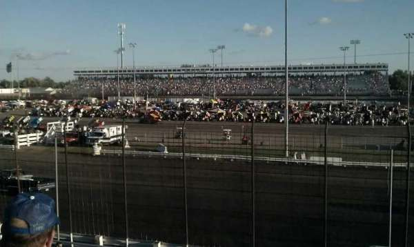 Knoxville Raceway, section: ww, row: 11, seat: 1