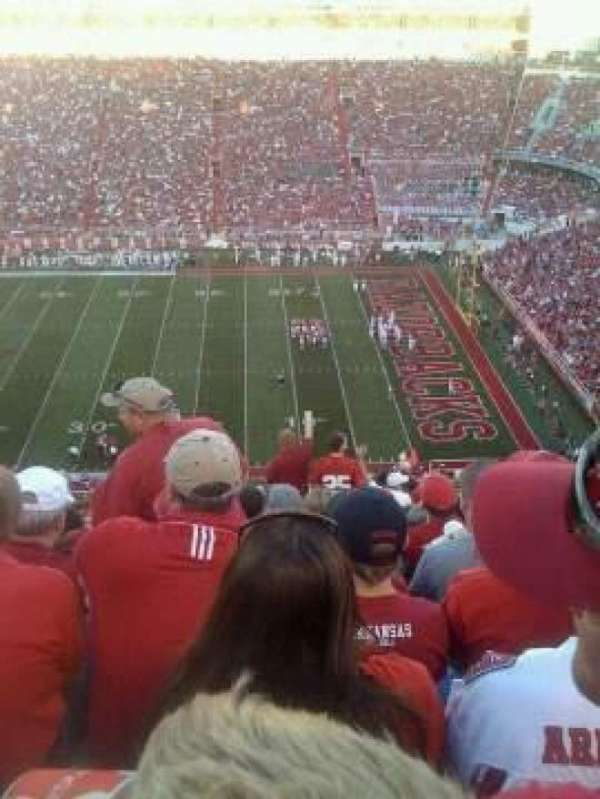 Razorback Stadium, section: 502