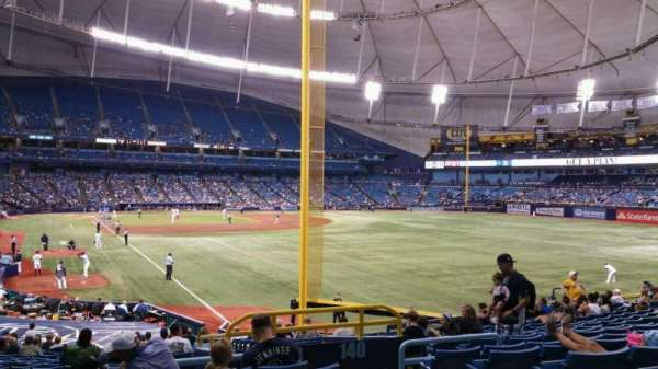 Tropicana Field, section: 138, row: jj, seat: 20