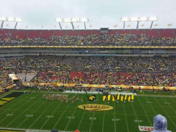 Raymond James Stadium, section: 336, row: E, seat: 13