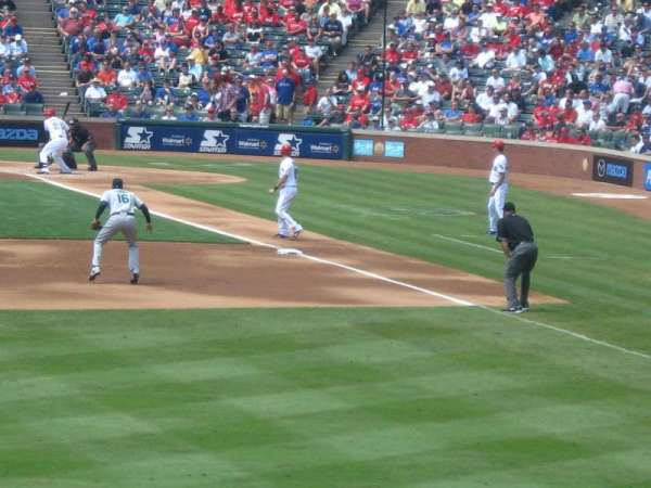 Globe Life Park in Arlington, section: 6, row: 3, seat: 11