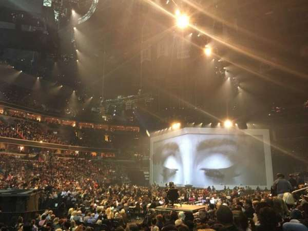 Capital One Arena, section: 110, row: G, seat: 1