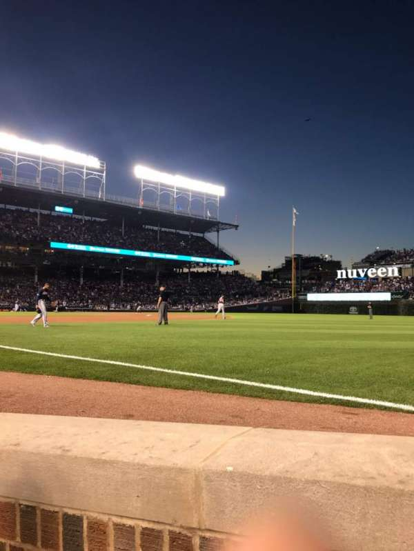 Wrigley Field, section: 30, row: 2, seat: 5